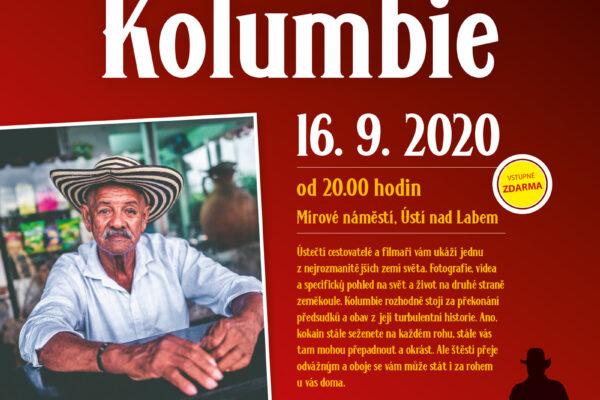Kolumbie Letní kino v Ústí nad Labem / Mírové náměstí / www.usti-nad-labem.cz marteslem.cz / davidsury.cz