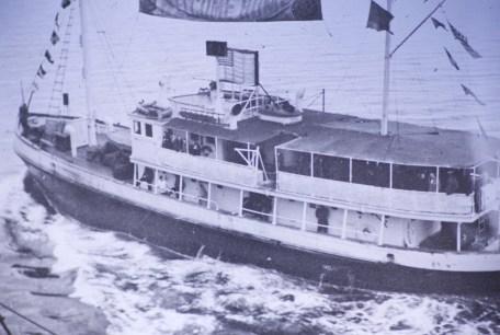 Attu, Alaska - Our Welcome Ship - Seattle Harbor