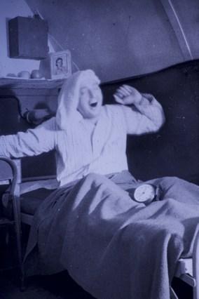 "Attu, Alaska - VJ Day - ""And so to bed"""