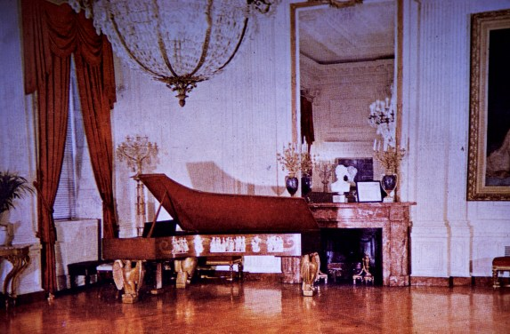 White House - East Room Before Restoration