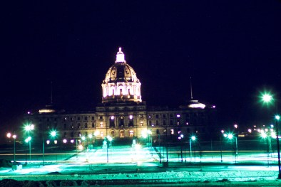 Minnesota State Capitol - State Capitol at Night