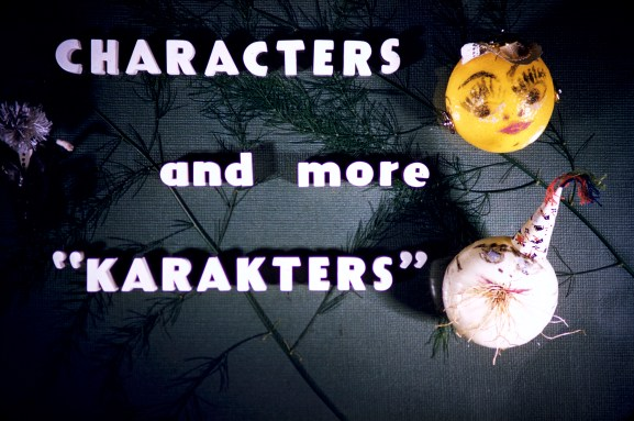 Title Cards - Characters