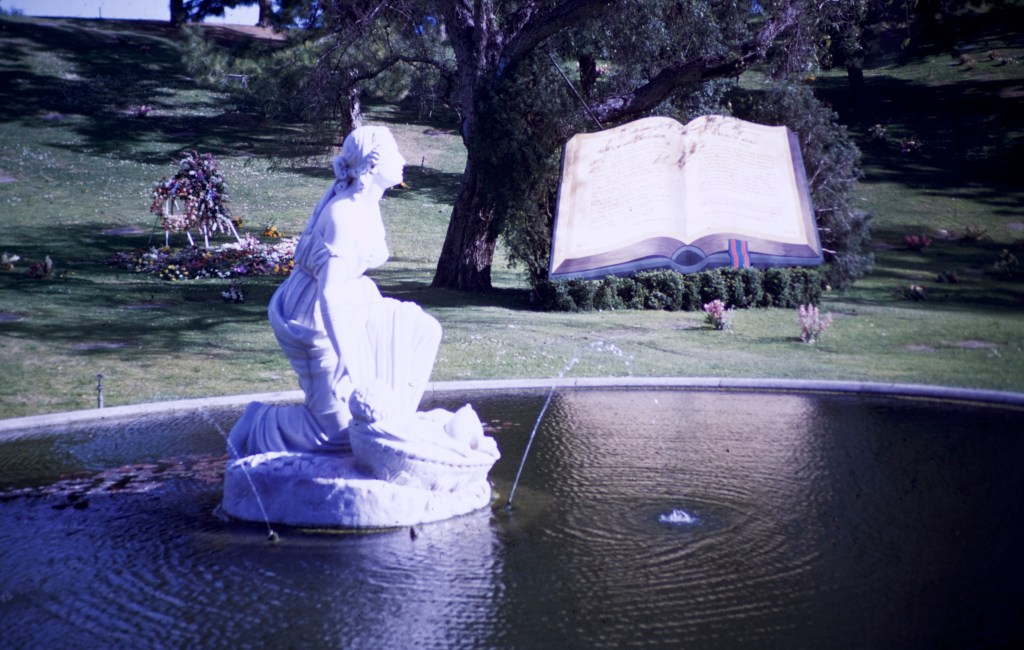 Forest Lawn – Finding of Moses Fountain