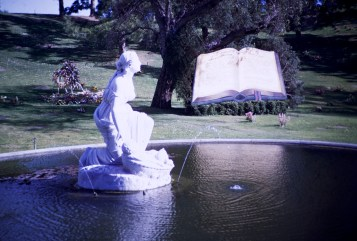Forest Lawn - Finding of Moses Fountain