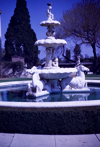 Huntington Library and Art Gallery - Fountain