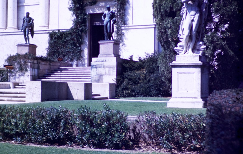 Huntington Library and Art Gallery – Library Entrance