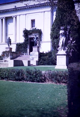 Huntington Library and Art Gallery - Library Entrance
