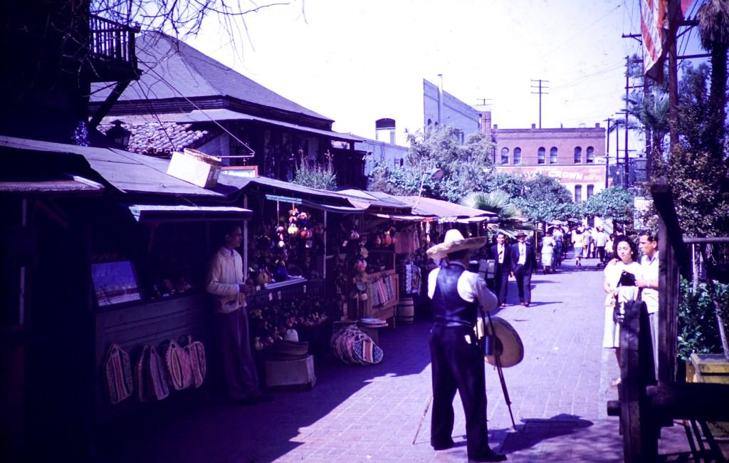 Los Angeles – Olivera Street