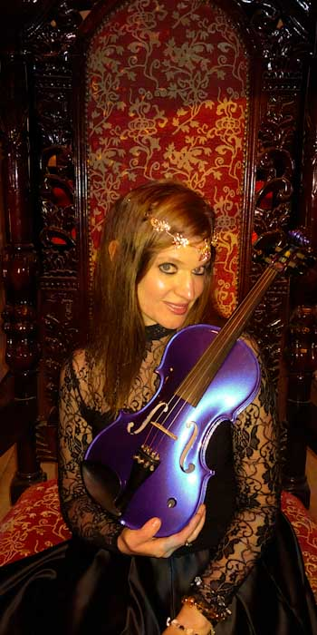 Shawna - Electric Violin for Game of Thrones Themed Events