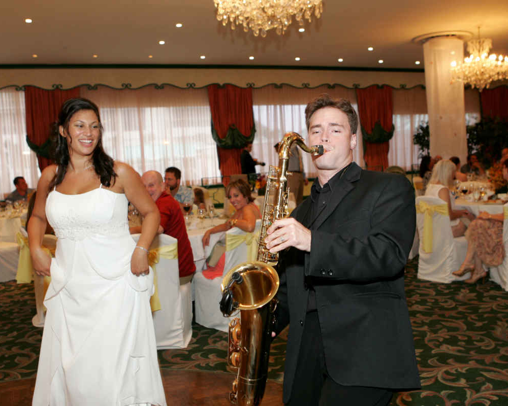 Wedding Sax Player