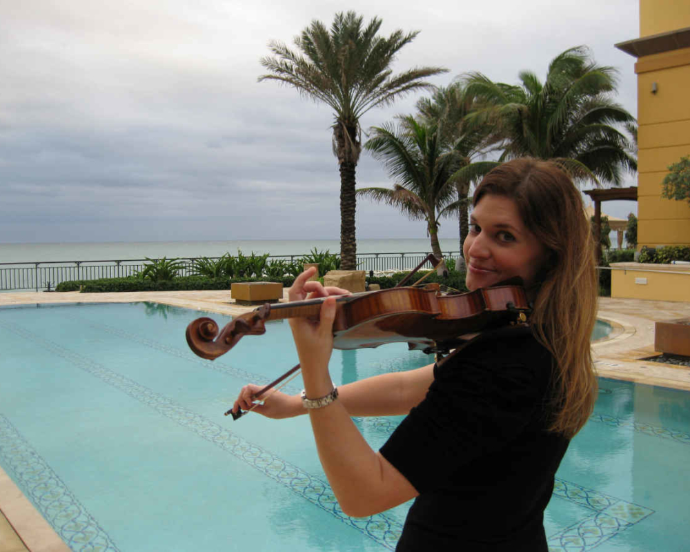 Beach Wedding Violinist