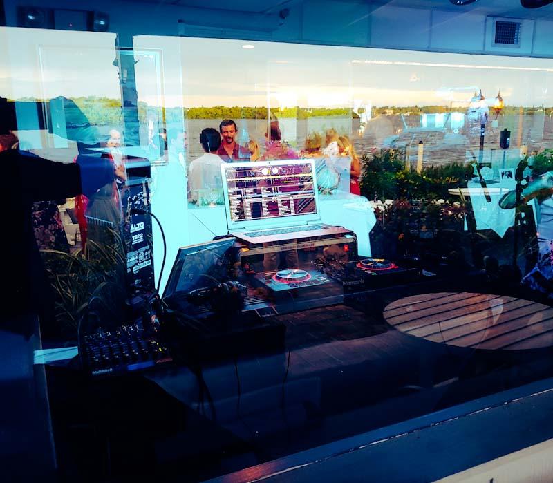 Ophelia's on the Bay with DJ twoFive, Sarasota's Sax Playing Disc Jockey
