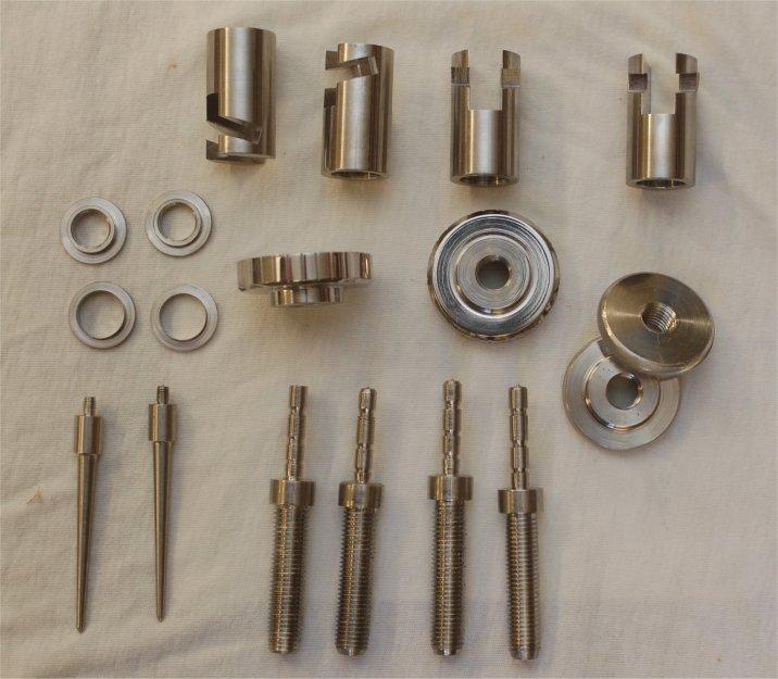 Invar Pendulum fittings