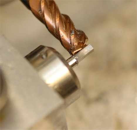 Milling square for beat setting