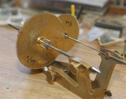 Depthing Month Wheel -Centre Pinion