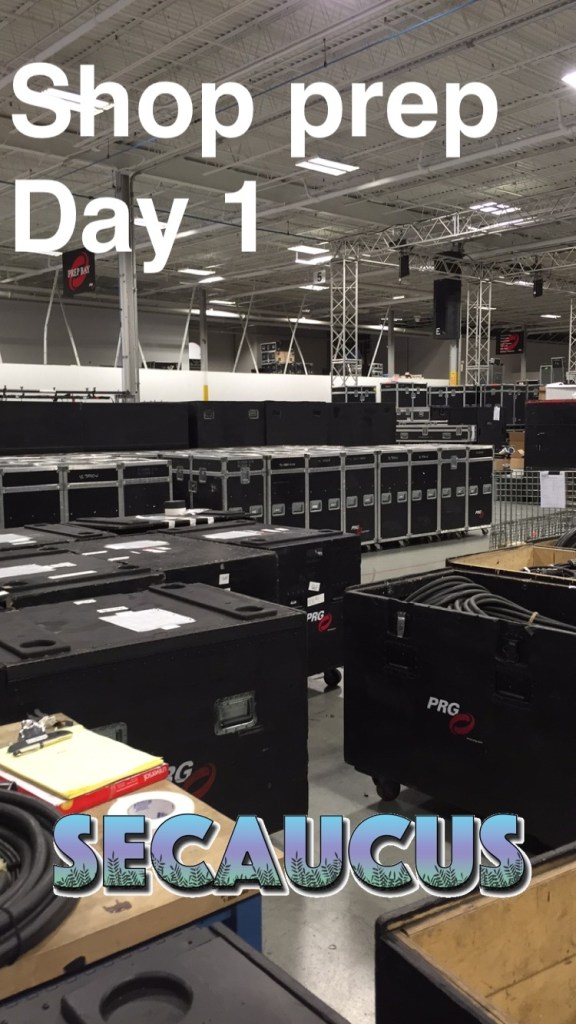 From Glimmerglass Shop prep a few weeks ago, the prepped VL cases with cable boxes in foreground