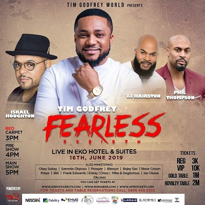 tim godfrey fearless