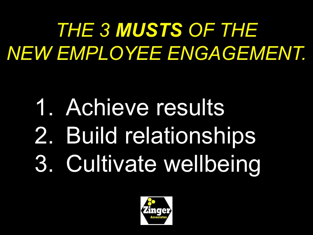 3 Musts of the New Employee Engagement