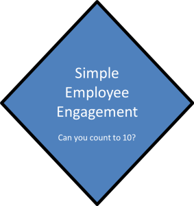 Employee Engagement Simple Count to 10