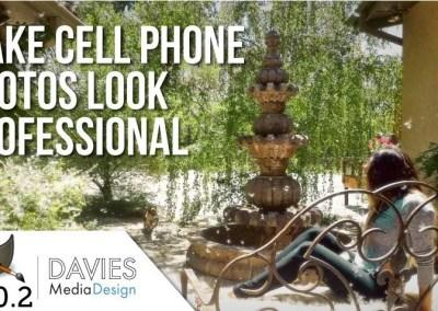 GIMP 2.10.2 Tutorial: Make Cell Phone Photos Look Professional
