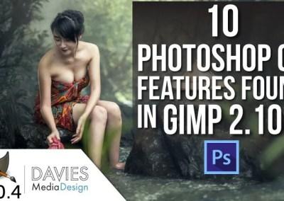 GIMP vs. Photoshop: 10 Photoshop CC Features Found in GIMP 2.10.4