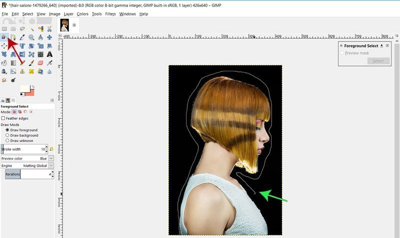 How To Remove An Image Background In Gimp 210 Solid Background