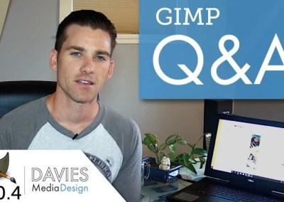 GIMP Basics: Your GIMP Questions Answered (2018)