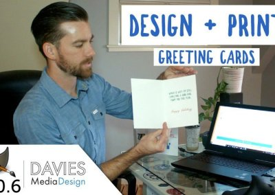 DIY – Design and Print Your Own Greeting Card in GIMP 2.10