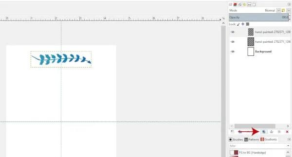 김프 2.10.8에서 레이어 복제하기