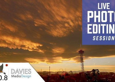 GIMP 2.10 Exposure Blending Live Photo Editing Session (Dec 14th)