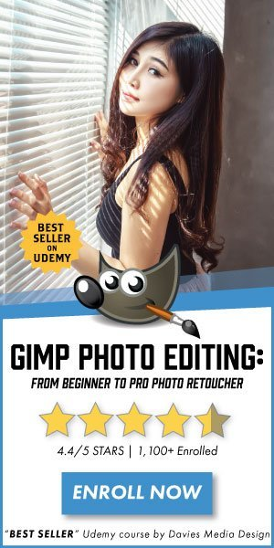 GIMP 2.10 Photo Editing Course Join 1,100 Students