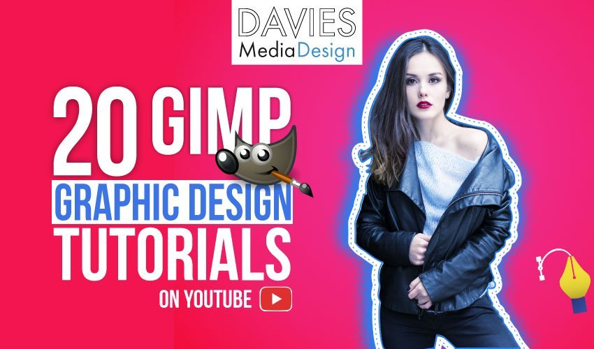 20 GIMP Graphic Design Tutorials on YouTube Video List