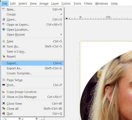 File Export Clipping Mask Tutorial