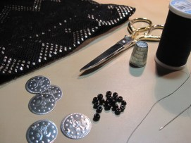 Materials for Bead & Coin Trim