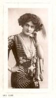 Lilie Elsie as the Merry Widow