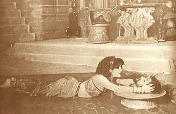 Lyda Borelli as Salome, 1909