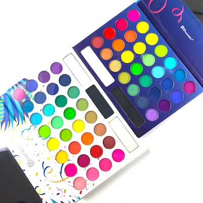 """BH Cosmetics issued an expanded version of their iconic """"Take me to Brazil"""" eyeshadow palette with the expanded """"Take me BACK to Brazil."""""""