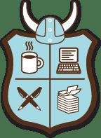 NaNoWriMo heraldic crest