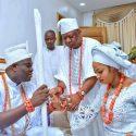 Ooni Of Ife and new queen wedding