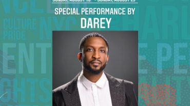 Darey To Perform Alongside Stevie Wonder, India Arie, Robin Thicke And More At Harlem Week 2020