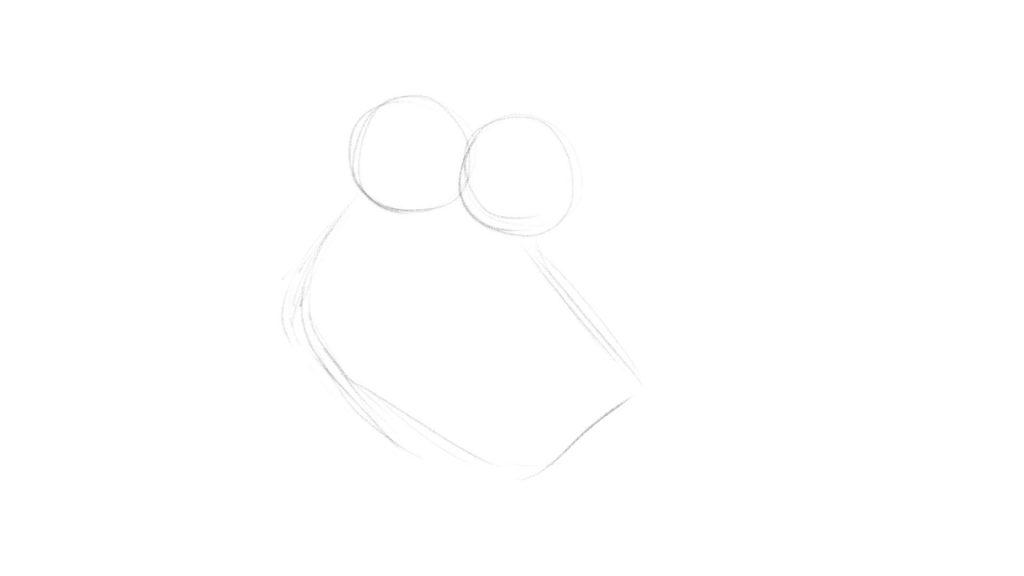 Step by step Owl drawing tutorial