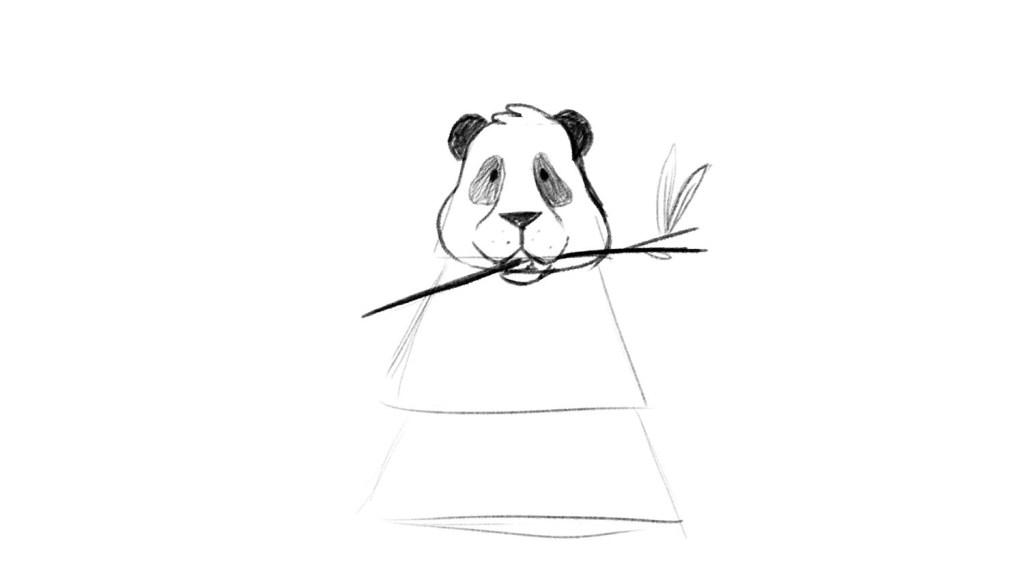 Sketch tutorial of panda