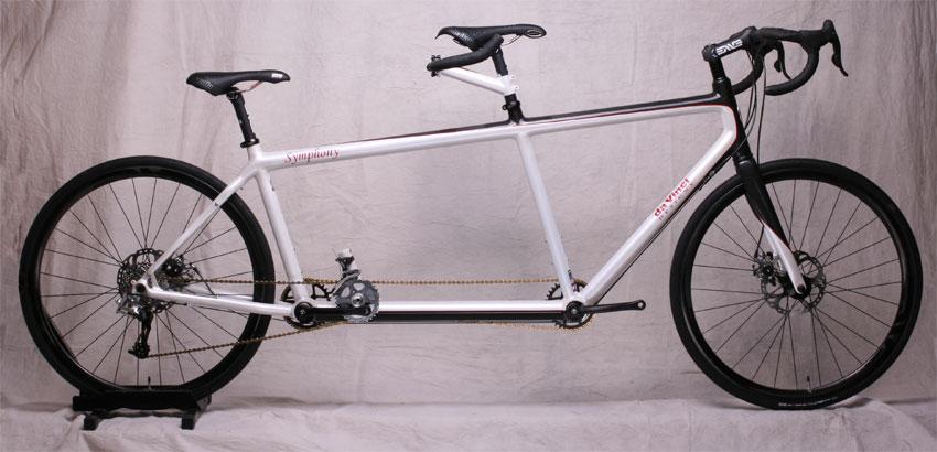 Carbon Fiber Symphony Tandem Bicycle