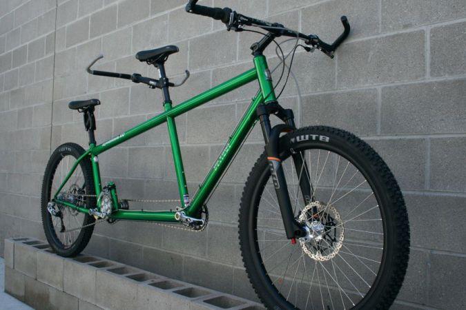 da Vinci Designs Symbiosis XC Front Suspension Tandem Bicycle