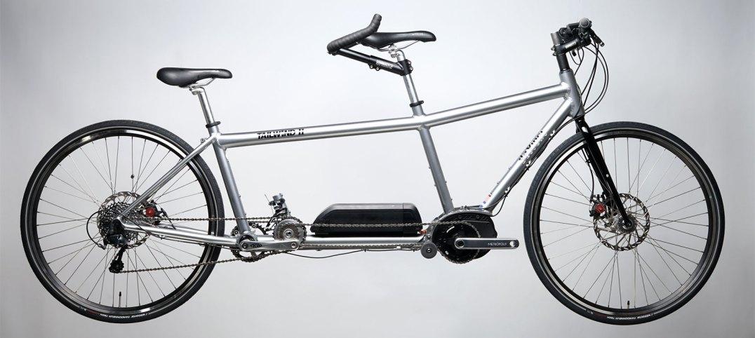 Da Vinci Designs Tailwind II Mountain Hybrid Electric Assist Tandem bicycle
