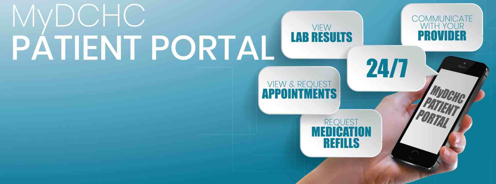 to your medical information 24/7! Self-enroll today.
