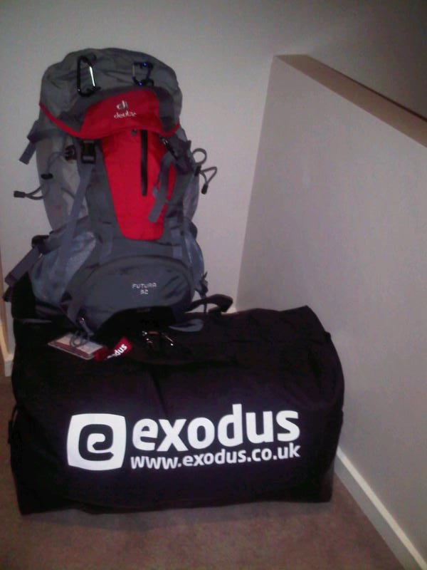 Kit Bag and Rucksack