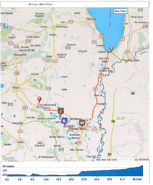 Day 2 - Metula to the Sea of Galilee