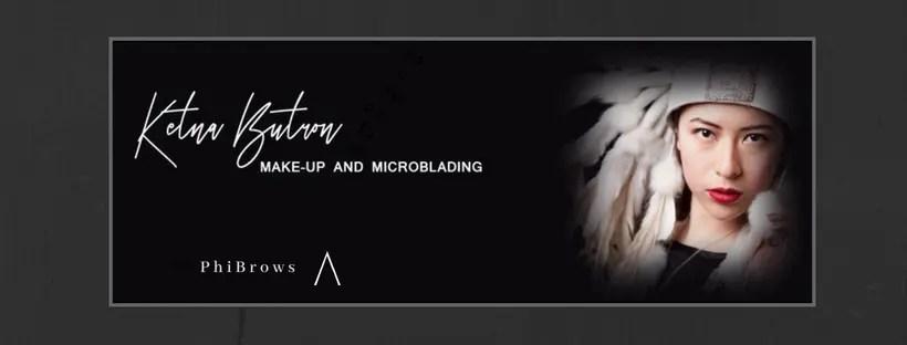 Ketna Butron Make-up and Microblading - SEO project