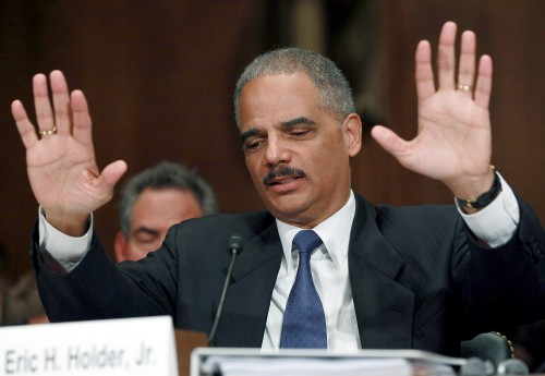 Holder hired to help California fight Trump administration